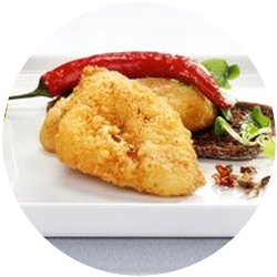 BREADED BLUEGILL FILLETS